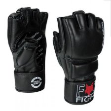 FOX-FIGHT BLACK ULTIMATE MMA Handschuhe aus echtem Leder