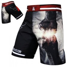 FIST PUNCH MMA Shorts / Satin