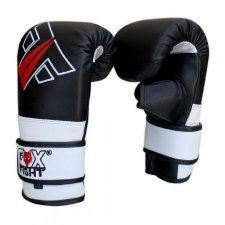 FOX-FIGHT STORM BLACK Bag Mitt Sandsackhandschuhe aus PU...