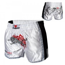 FOX-FIGHT TIGER Thai Shorts aus Satin