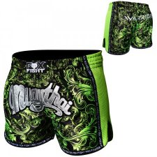FOX-FIGHT WARRIOR Thai Shorts aus Satin