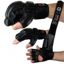 FOX-FIGHT FREEFIGHT MMA Handschuhe aus echtem Leder