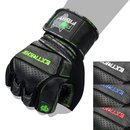 FOX-FIGHT EXTREME GREEN Fitness- Kraftsporthandschuhe aus...